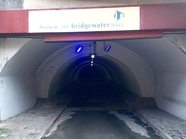 Photo of tunnel under Lower Mosley Street